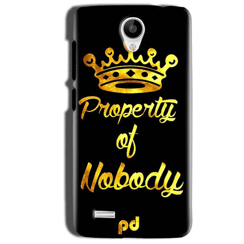 Vivo Y22 Mobile Covers Cases Property of nobody with Crown - Lowest Price - Paybydaddy.com
