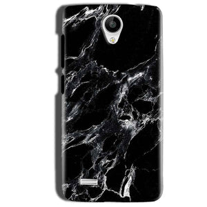 Vivo Y22 Mobile Covers Cases Pure Black Marble Texture - Lowest Price - Paybydaddy.com