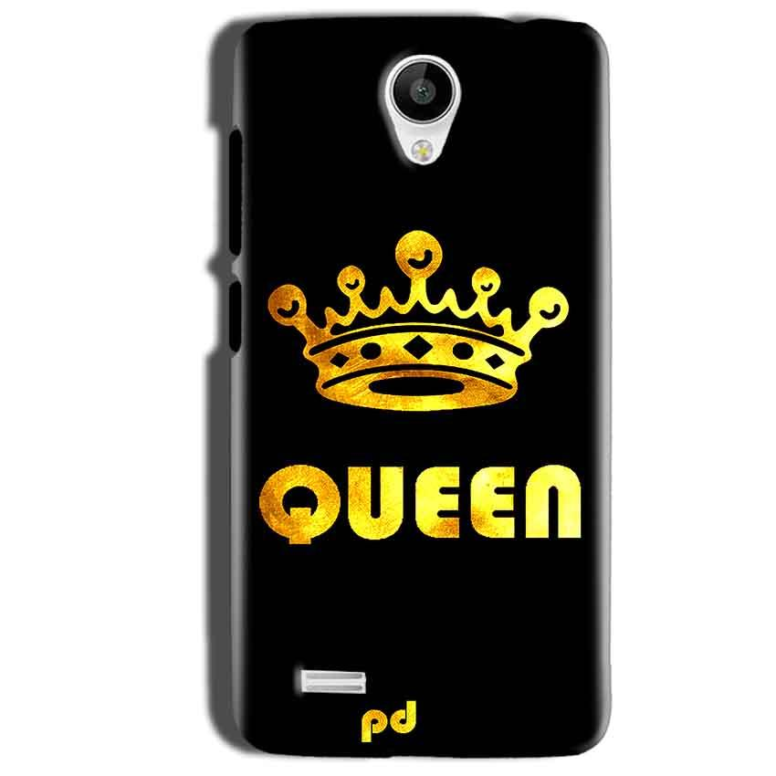 Vivo Y22 Mobile Covers Cases Queen With Crown in gold - Lowest Price - Paybydaddy.com