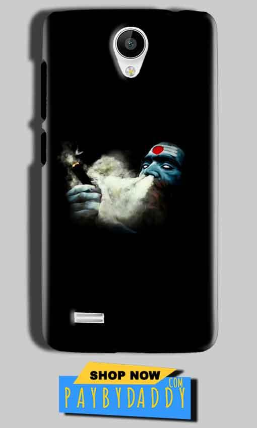 Vivo Y22 Mobile Covers Cases Shiva Aghori Smoking - Lowest Price - Paybydaddy.com