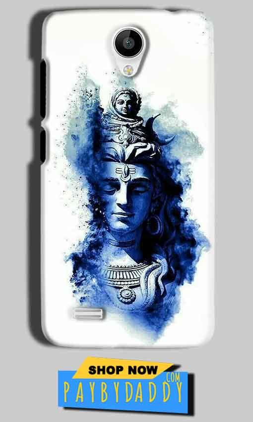 Vivo Y22 Mobile Covers Cases Shiva Blue White - Lowest Price - Paybydaddy.com
