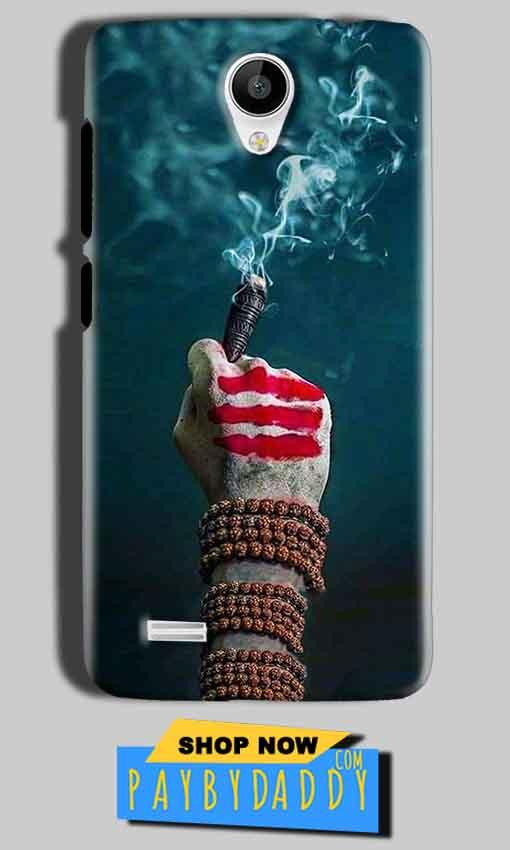 Vivo Y22 Mobile Covers Cases Shiva Hand With Clilam - Lowest Price - Paybydaddy.com