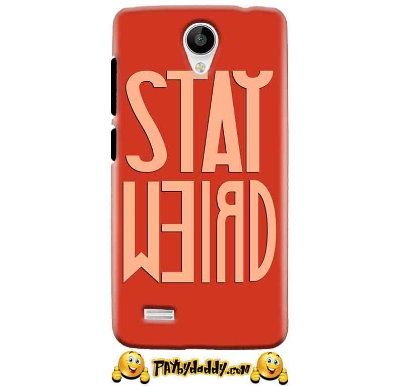 Vivo Y22 Mobile Covers Cases Stay Weird - Lowest Price - Paybydaddy.com