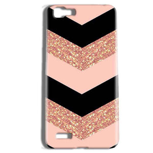 Vivo Y27 Mobile Covers Cases Black down arrow Pattern - Lowest Price - Paybydaddy.com