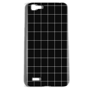 Vivo Y27 Mobile Covers Cases Black with White Checks - Lowest Price - Paybydaddy.com