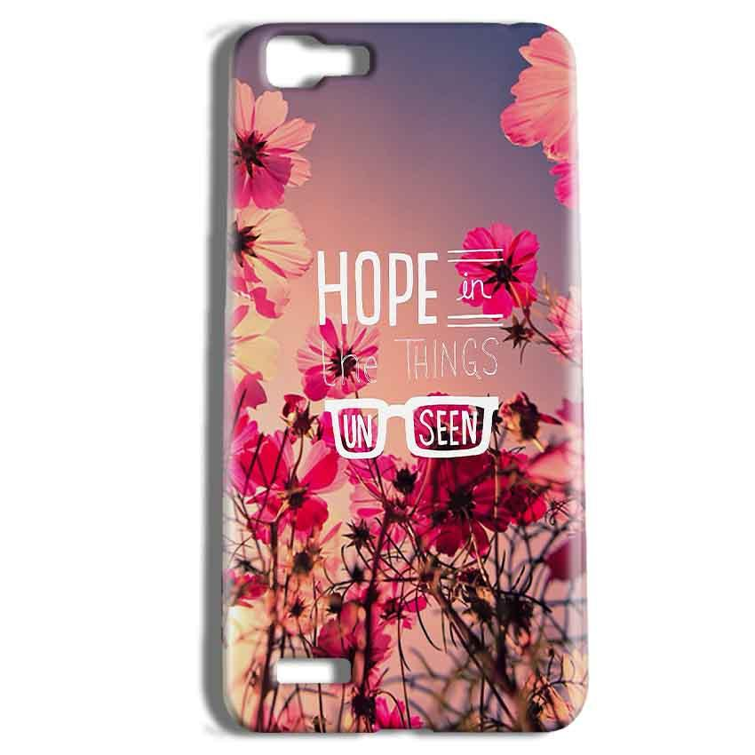 Vivo Y27 Mobile Covers Cases Hope in the Things Unseen- Lowest Price - Paybydaddy.com