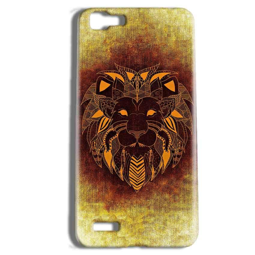 Vivo Y27 Mobile Covers Cases Lion face art - Lowest Price - Paybydaddy.com