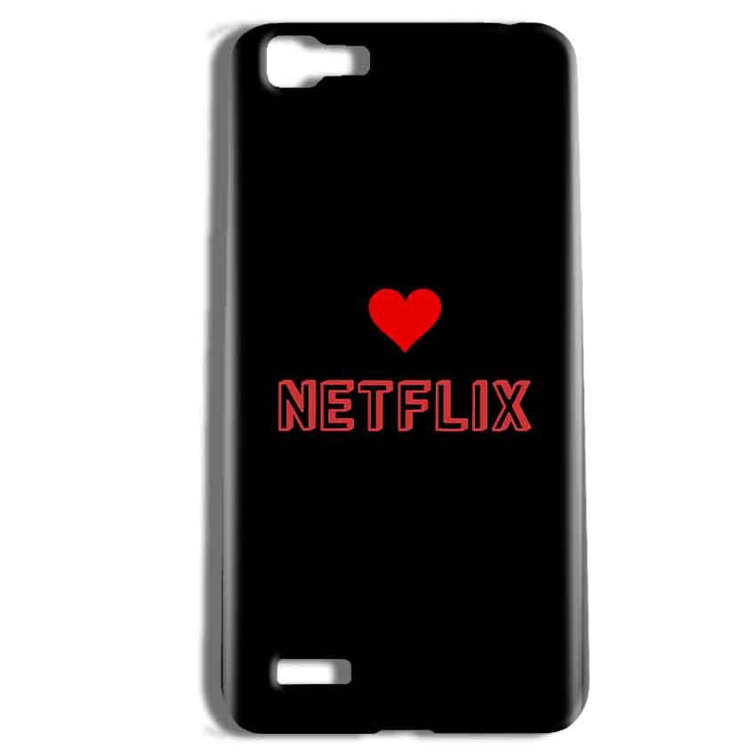 Vivo Y27 Mobile Covers Cases NETFLIX WITH HEART - Lowest Price - Paybydaddy.com