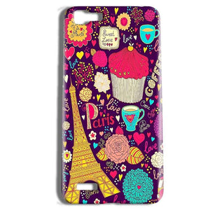 Vivo Y27 Mobile Covers Cases Paris Sweet love - Lowest Price - Paybydaddy.com
