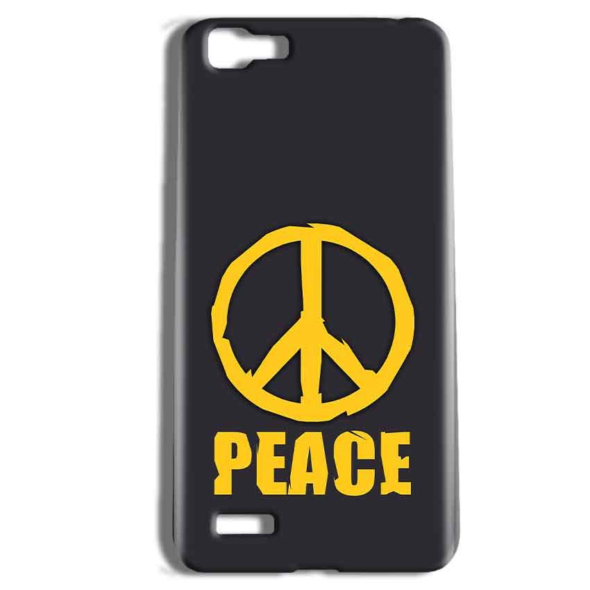 Vivo Y27 Mobile Covers Cases Peace Blue Yellow - Lowest Price - Paybydaddy.com