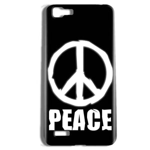 Vivo Y27 Mobile Covers Cases Peace Sign In White - Lowest Price - Paybydaddy.com