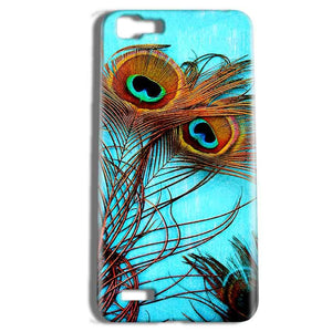 Vivo Y27 Mobile Covers Cases Peacock blue wings - Lowest Price - Paybydaddy.com