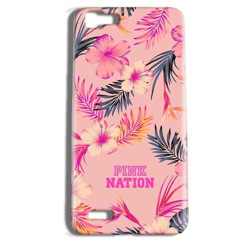 Vivo Y27 Mobile Covers Cases Pink nation - Lowest Price - Paybydaddy.com