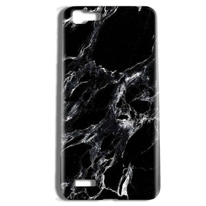 Vivo Y27 Mobile Covers Cases Pure Black Marble Texture - Lowest Price - Paybydaddy.com