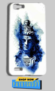 Vivo Y27 Mobile Covers Cases Shiva Blue White - Lowest Price - Paybydaddy.com