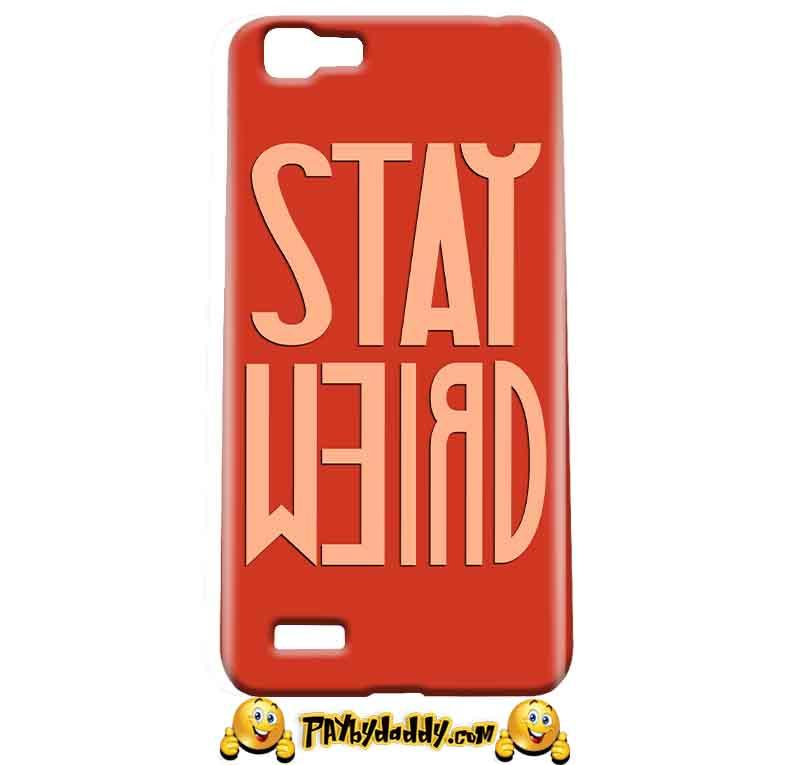 Vivo Y27 Mobile Covers Cases Stay Weird - Lowest Price - Paybydaddy.com