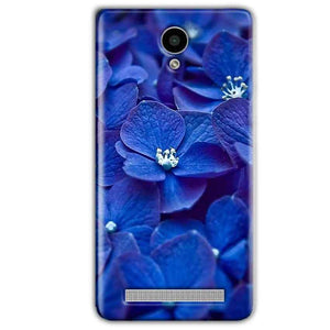 Vivo Y28 Mobile Covers Cases Blue flower - Lowest Price - Paybydaddy.com