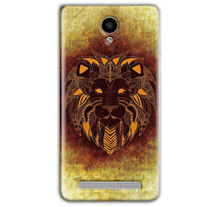 Vivo Y28 Mobile Covers Cases Lion face art - Lowest Price - Paybydaddy.com