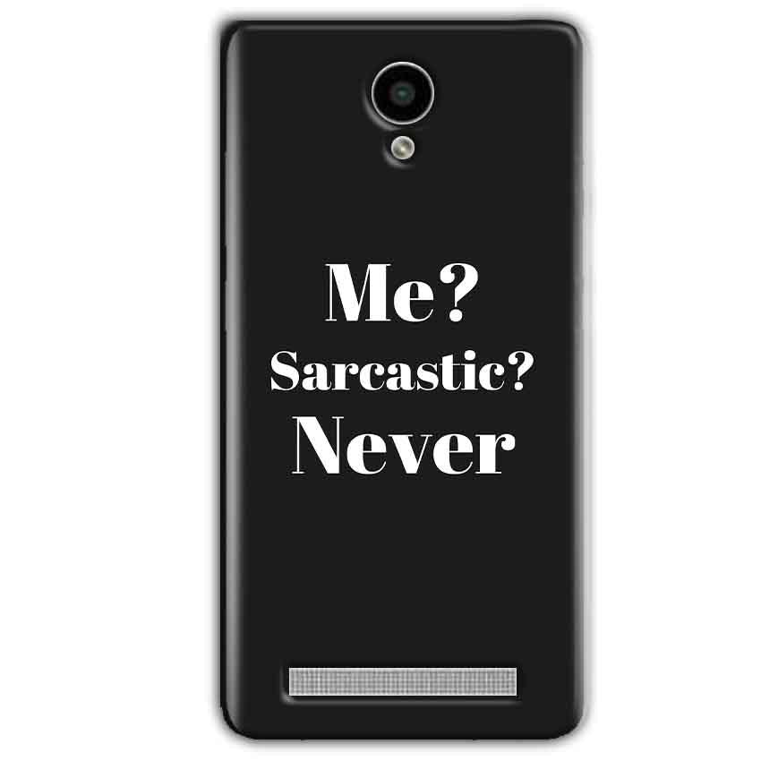 Vivo Y28 Mobile Covers Cases Me sarcastic Never - Lowest Price - Paybydaddy.com