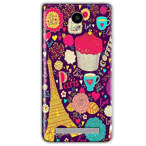Vivo Y28 Mobile Covers Cases Paris Sweet love - Lowest Price - Paybydaddy.com