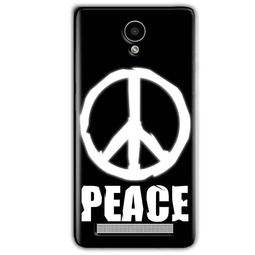 Vivo Y28 Mobile Covers Cases Peace Sign In White - Lowest Price - Paybydaddy.com