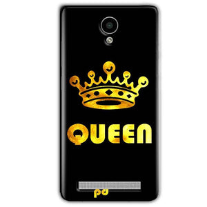 Vivo Y28 Mobile Covers Cases Queen With Crown in gold - Lowest Price - Paybydaddy.com