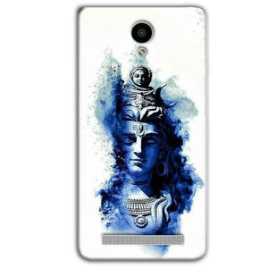 Vivo Y28 Mobile Covers Cases Shiva Blue White - Lowest Price - Paybydaddy.com