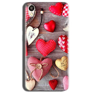 Vivo Y51L Mobile Covers Cases Hearts- Lowest Price - Paybydaddy.com