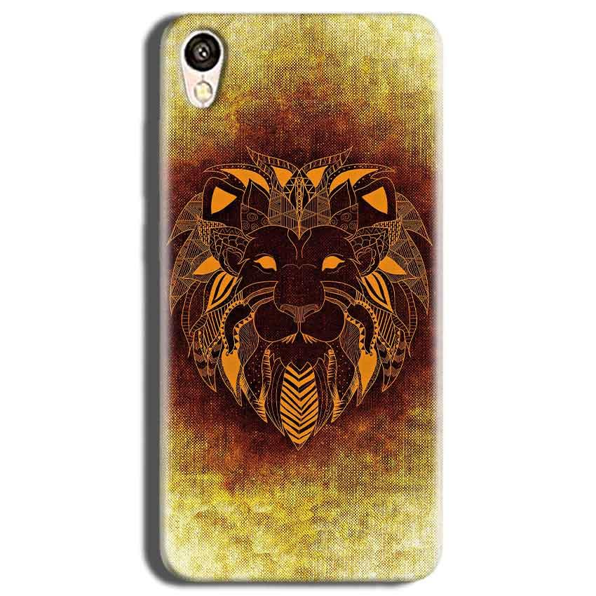 Vivo Y51L Mobile Covers Cases Lion face art - Lowest Price - Paybydaddy.com