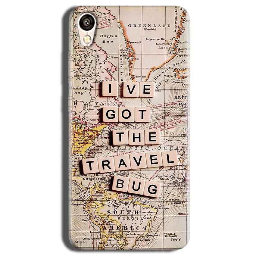 Vivo Y51L Mobile Covers Cases Live Travel Bug - Lowest Price - Paybydaddy.com