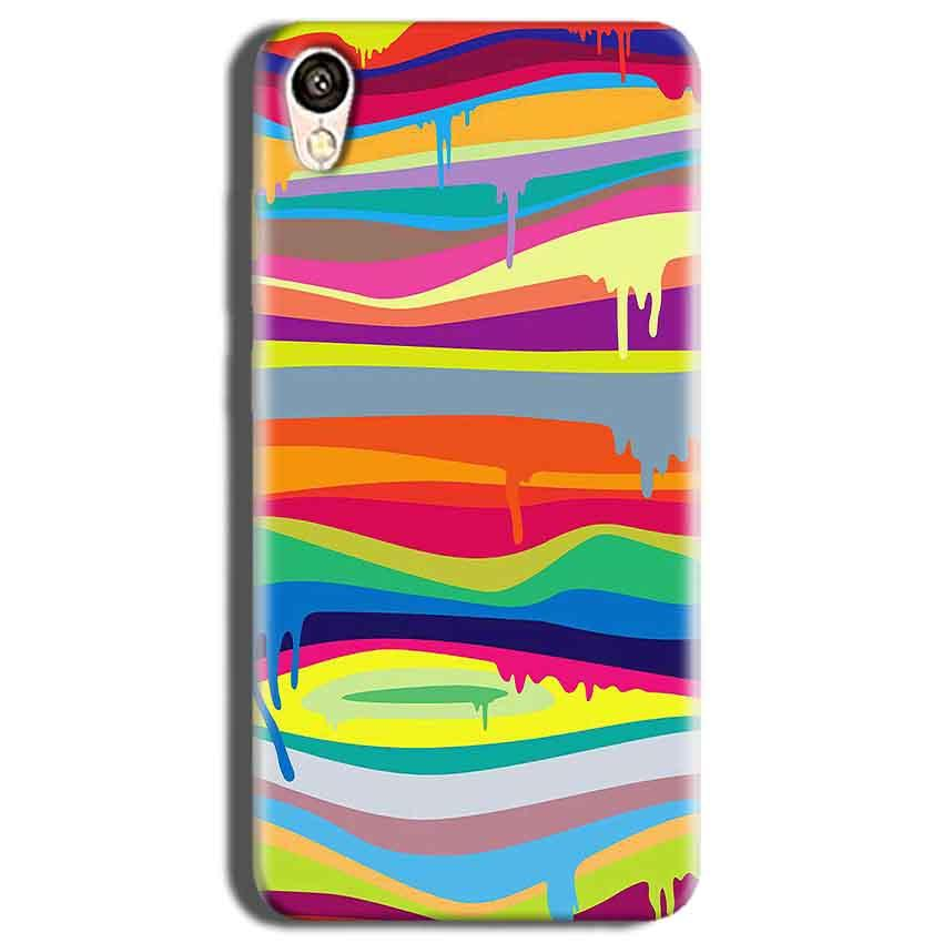 Vivo Y51L Mobile Covers Cases Melted colours - Lowest Price - Paybydaddy.com