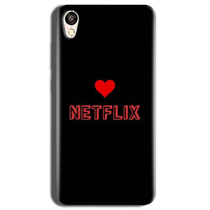 Vivo Y51L Mobile Covers Cases NETFLIX WITH HEART - Lowest Price - Paybydaddy.com
