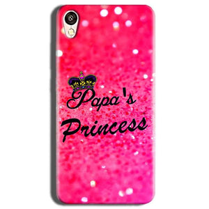 Vivo Y51L Mobile Covers Cases PAPA PRINCESS - Lowest Price - Paybydaddy.com