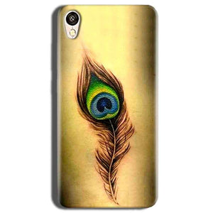 Vivo Y51L Mobile Covers Cases Peacock coloured art - Lowest Price - Paybydaddy.com