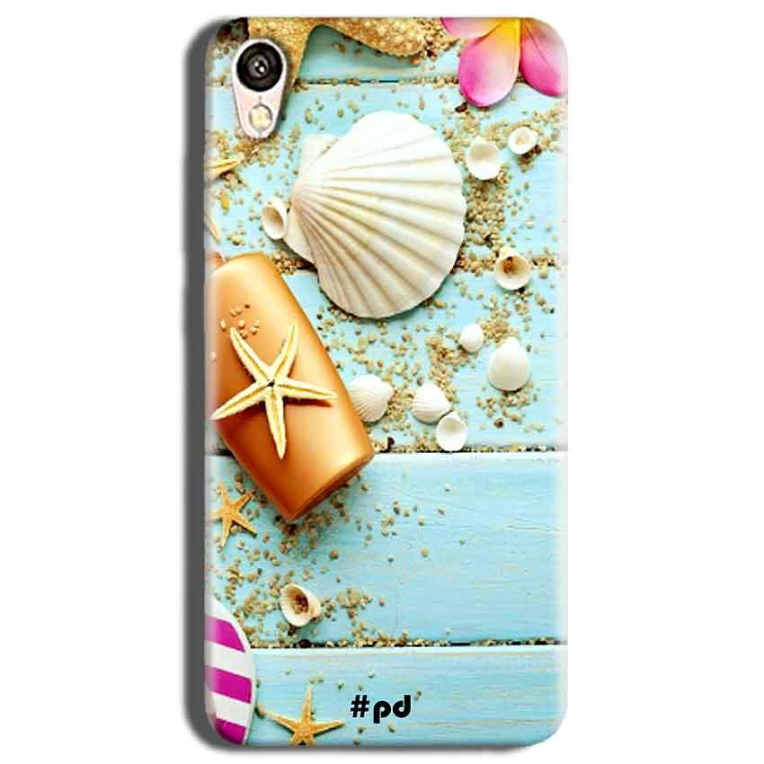 Vivo Y51L Mobile Covers Cases Pearl Star Fish - Lowest Price - Paybydaddy.com