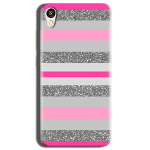Vivo Y51L Mobile Covers Cases Pink colour pattern - Lowest Price - Paybydaddy.com