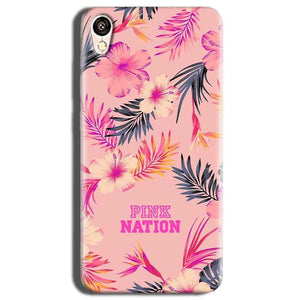 Vivo Y51L Mobile Covers Cases Pink nation - Lowest Price - Paybydaddy.com
