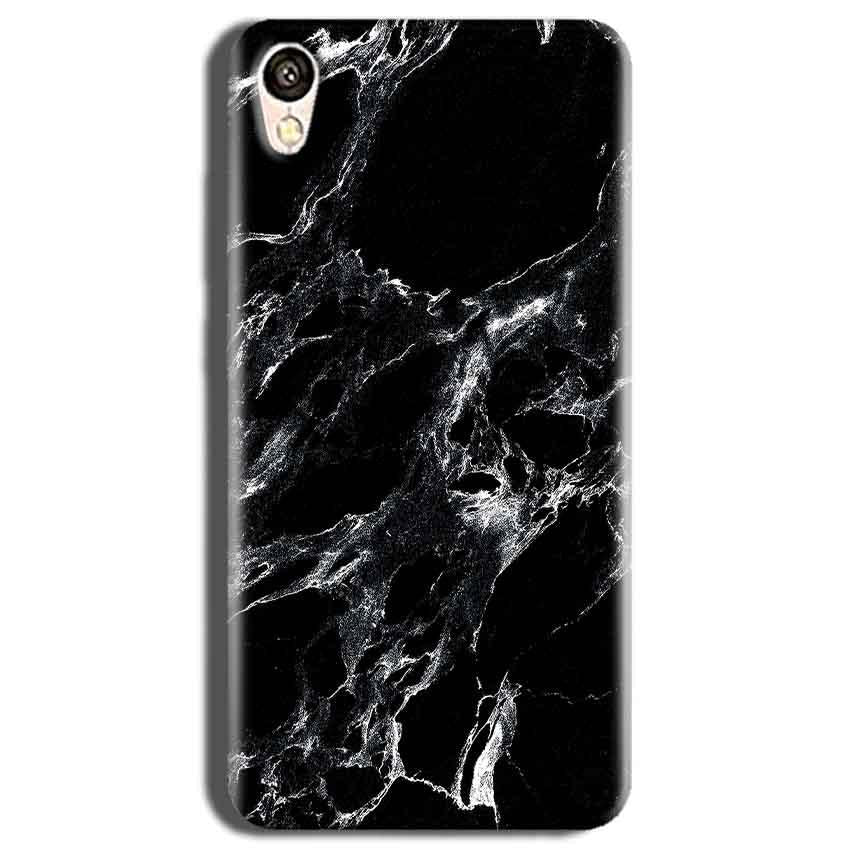 Vivo Y51L Mobile Covers Cases Pure Black Marble Texture - Lowest Price - Paybydaddy.com