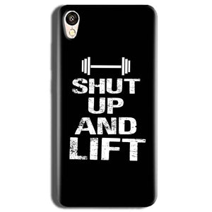 Vivo Y51L Mobile Covers Cases Shut Up And Lift - Lowest Price - Paybydaddy.com