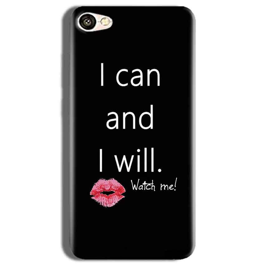 Vivo Y53 Mobile Covers Cases i can and i will Lips - Lowest Price - Paybydaddy.com