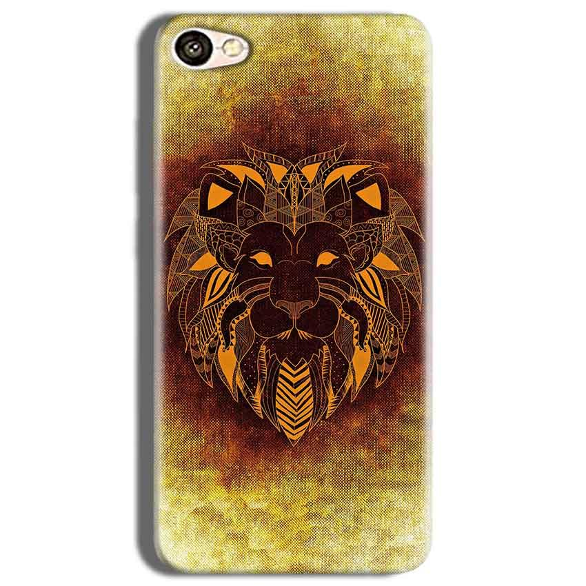 Vivo Y53 Mobile Covers Cases Lion face art - Lowest Price - Paybydaddy.com