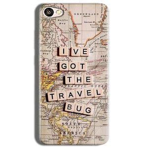 Vivo Y53 Mobile Covers Cases Live Travel Bug - Lowest Price - Paybydaddy.com