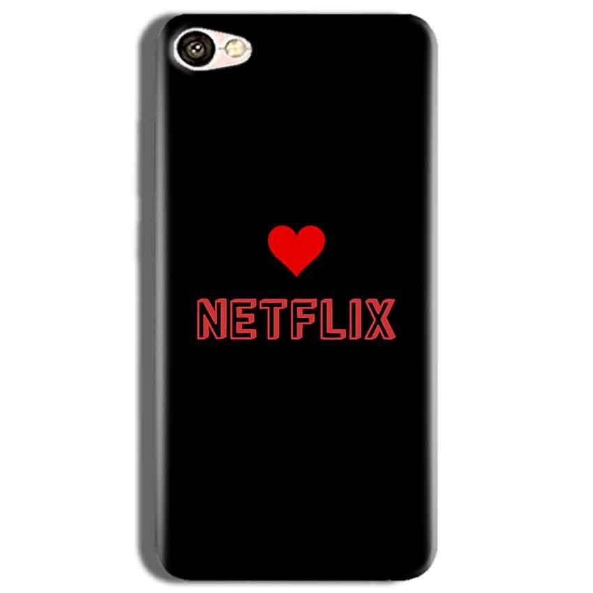 Vivo Y53 Mobile Covers Cases NETFLIX WITH HEART - Lowest Price - Paybydaddy.com
