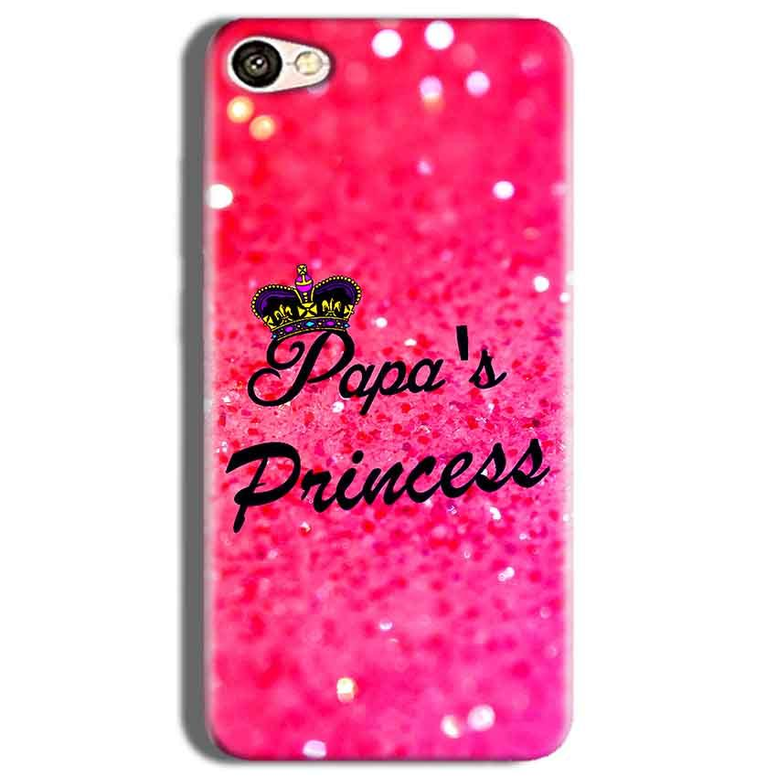 Vivo Y53 Mobile Covers Cases PAPA PRINCESS - Lowest Price - Paybydaddy.com