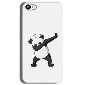 Vivo Y53 Mobile Covers Cases Panda Dab - Lowest Price - Paybydaddy.com