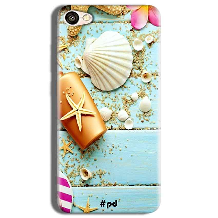 Vivo Y53 Mobile Covers Cases Pearl Star Fish - Lowest Price - Paybydaddy.com