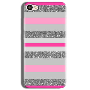 Vivo Y53 Mobile Covers Cases Pink colour pattern - Lowest Price - Paybydaddy.com
