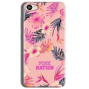 Vivo Y53 Mobile Covers Cases Pink nation - Lowest Price - Paybydaddy.com