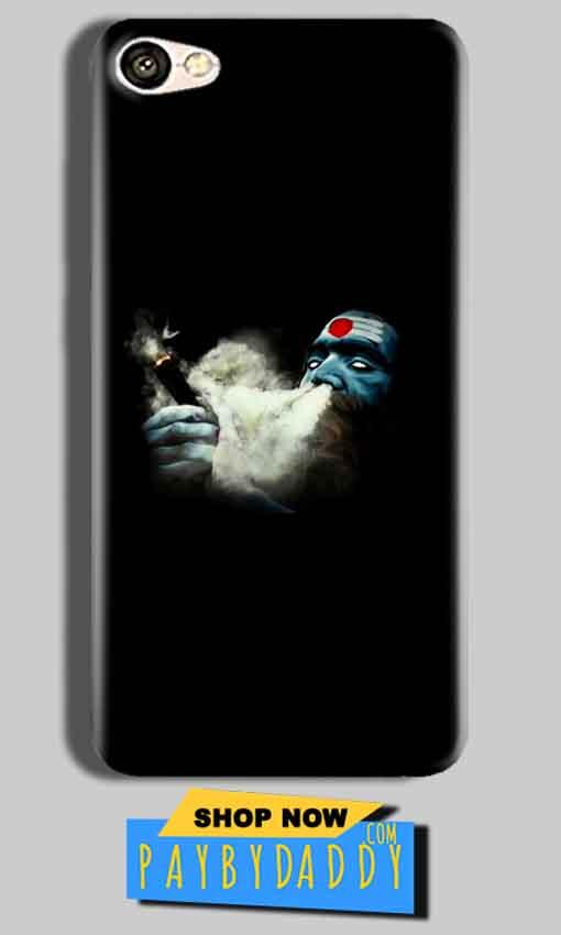 Vivo Y53 Mobile Covers Cases Shiva Aghori Smoking - Lowest Price - Paybydaddy.com