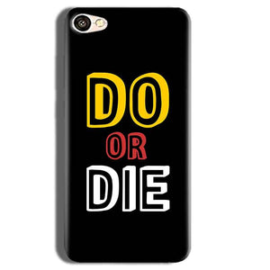 Vivo Y55L Mobile Covers Cases DO OR DIE - Lowest Price - Paybydaddy.com